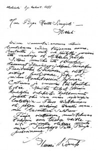 Ilmari Kiannon kirje  Martti Simojoelle