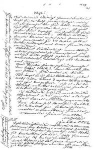 Jacob Simeliuksen kirje veljelleen Josefille 1859