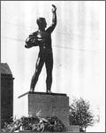 Vapaudenpatsas Lahdessa, Viktor Jansson 1921
